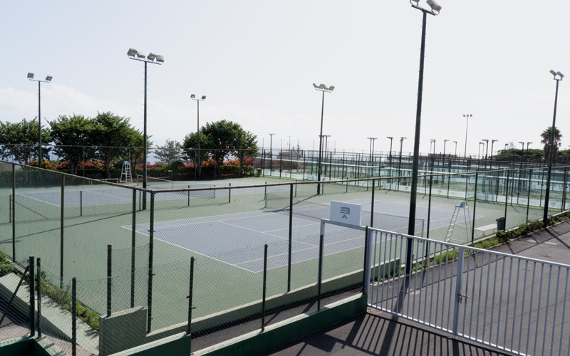 Cuatro pistas de tenis
